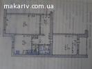 Продам двокімнатну квартиру в центрі Макарова