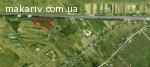 Продам земельну ділянку на фасаді Київ- Чоп